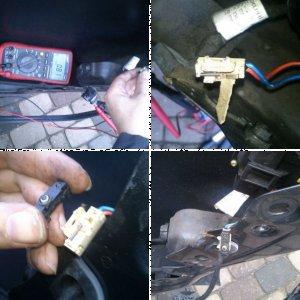 Door switch repair