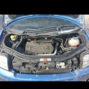 How not to open your bonnet.