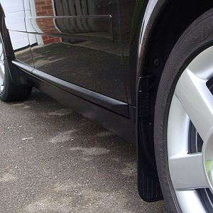 Mud flaps - side view
