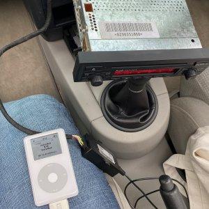 Fitting Audi iPod adapter