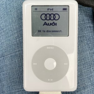 iPod adapter and vintage iPod