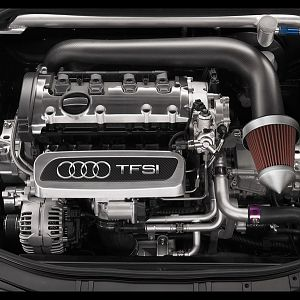 Audi TT Clubsport Quattro Study Engine